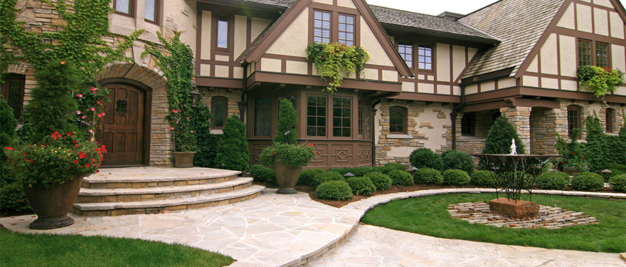 landscaping design front yard mn