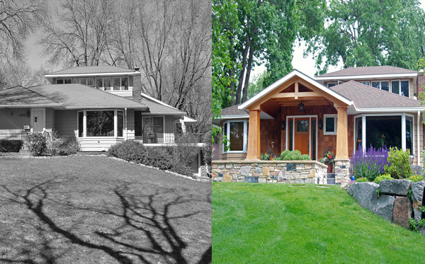 Before and After Landscape Design