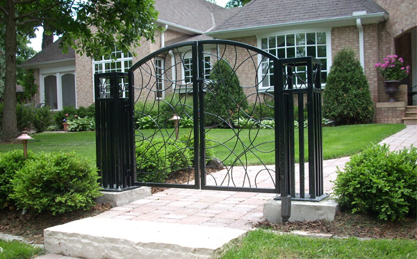 Custom Landscape Metal Work