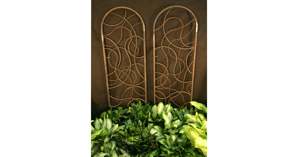 "Metal Trellis - Each: 27"" x 80"""