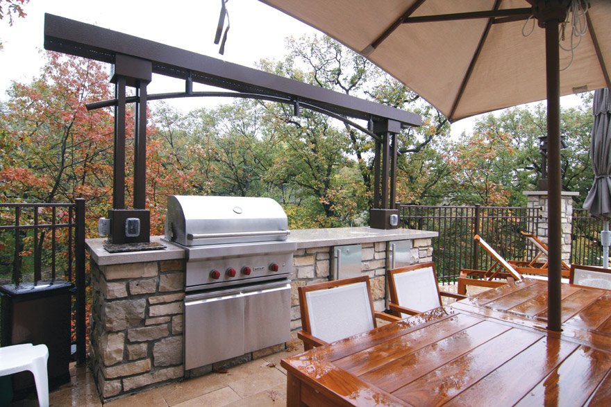 Edina MN Outdoor Kitchen