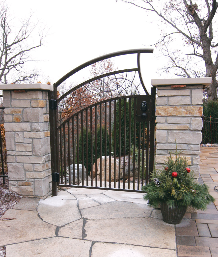 Edina MN Custom Metal Gate