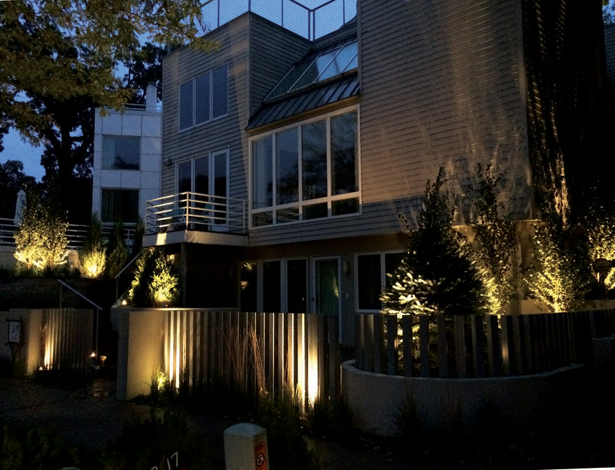 Minneapolis MN Exterior Lighting
