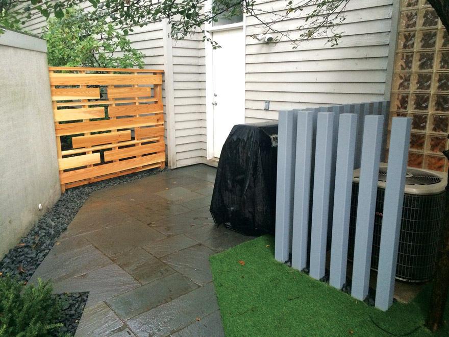 Minneapolis, MN Paver Patio and Custom Metal Fence