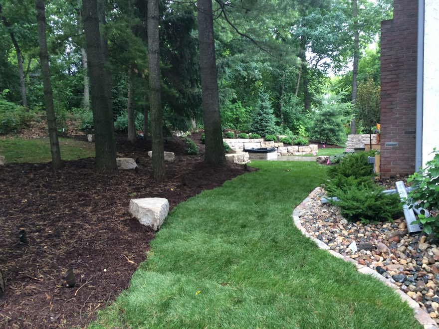 Minnetonka, MN Landscaping Back Yard