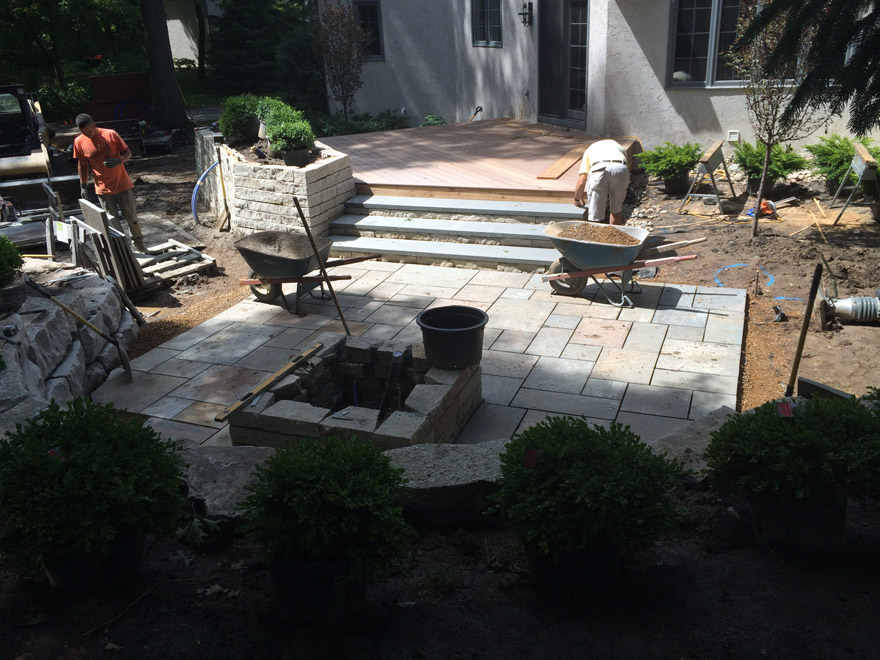 Minnetonka, MN Landscape Patio Construction