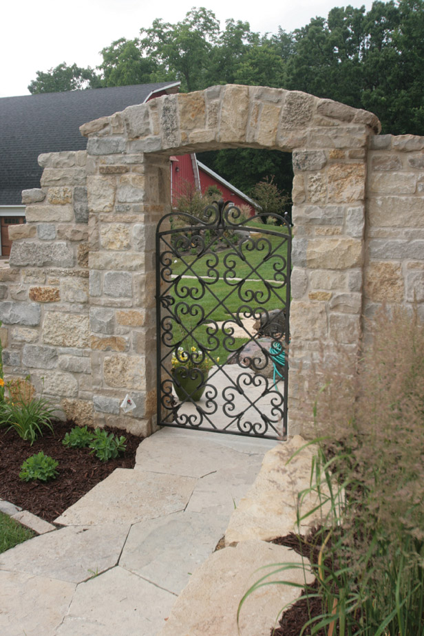Stone and Metal Gate