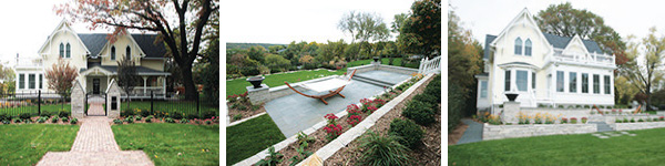 Landscape Design for Historic Residence in Stillwater, MN