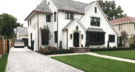 Edina Minnesota Front Entry with Cobbelstone Paver Driveway and Irregular Limestone Walkway