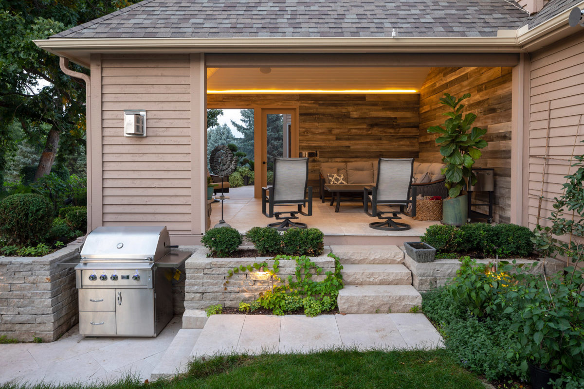 Outdoor Grilling Nook