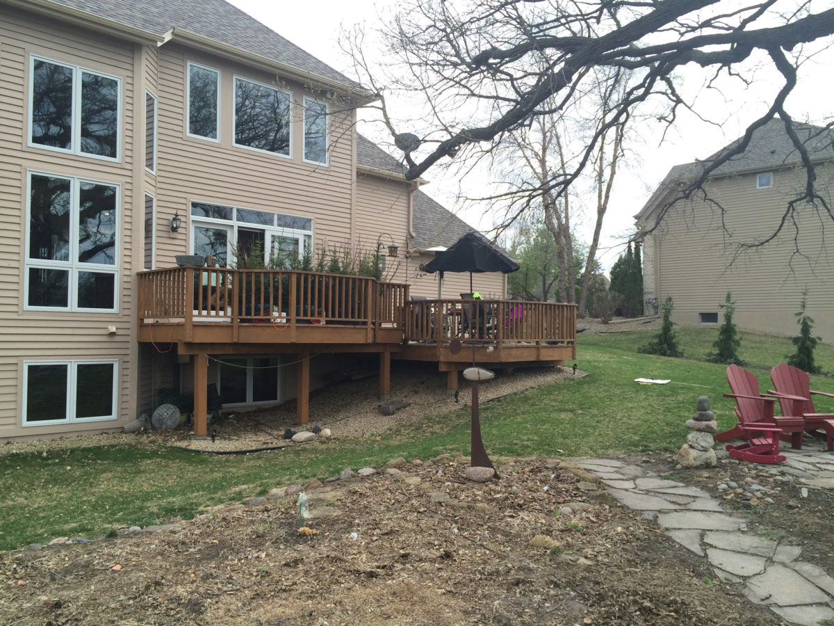 Before Photo of Home in Eden Prairie