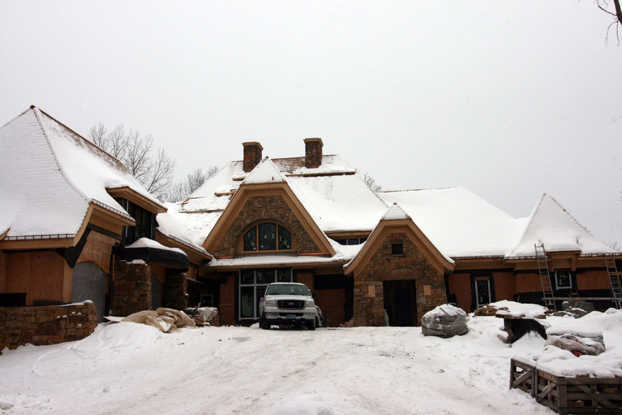 Front Entry Design Before Wayzata, MN