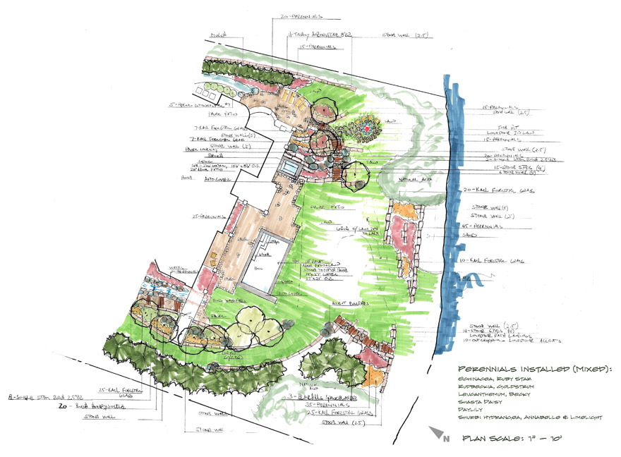 Landscape Design Plan for Lake Minnetonka Home in Minnetrista, MN