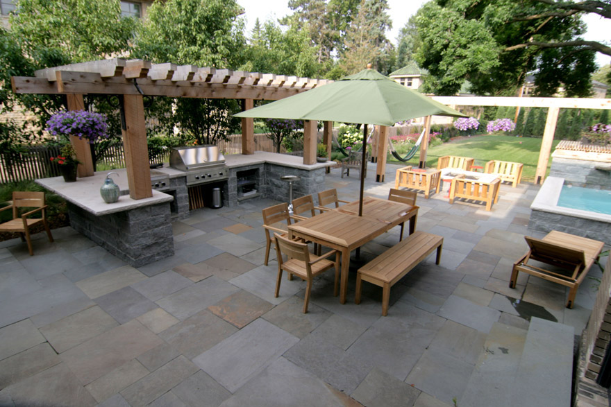 Minneapolis Patio and Pool Design and Construction
