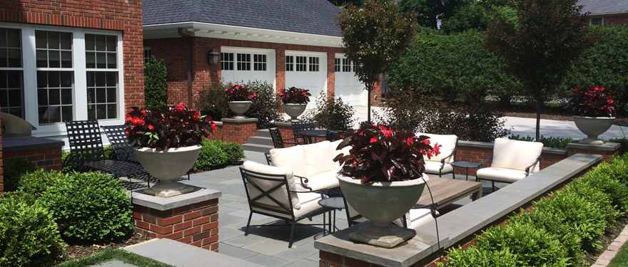 Patio Seating Area Landscape Design Minneapolis