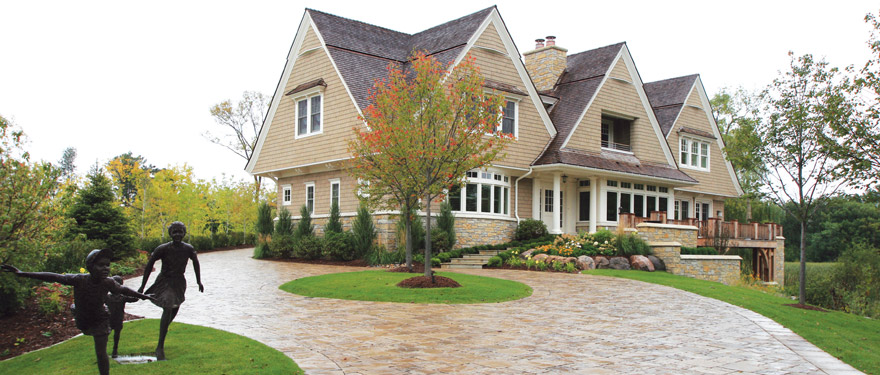 Driveway Tile and Landscaping Design Wazyata, MN
