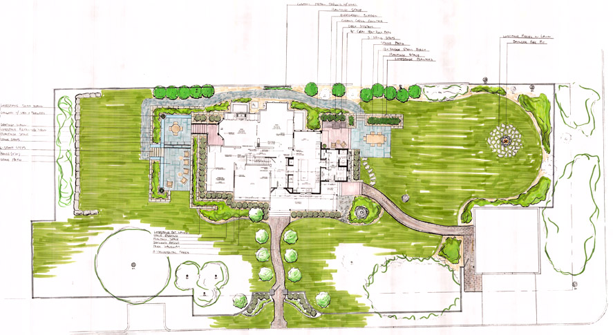 Landscape Design Plan for Home in Stillwater, MN