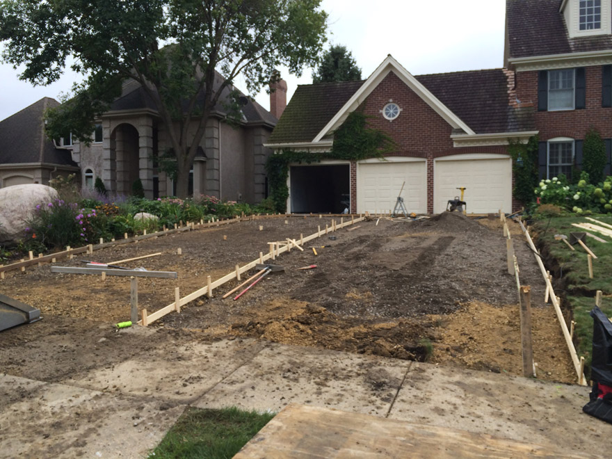 Removal of Asphalt Driveway in Bloomington, MN