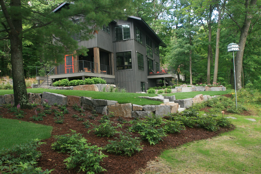 Modern Cabin in Cumberland WI with Fully Landscaped Yard
