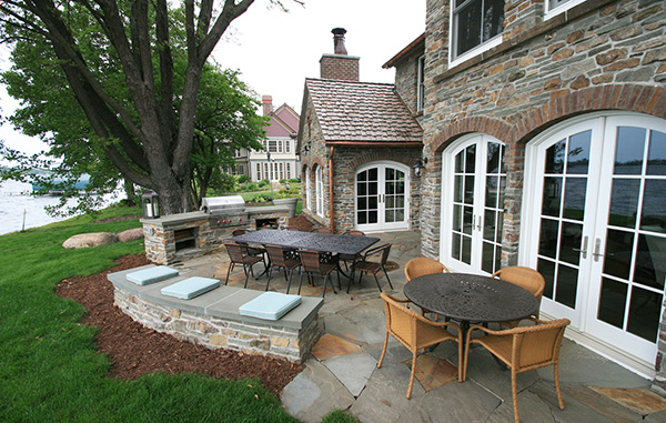 Yardscapes Irish Cottage Outdoor Kitchen Minnetonka Minnesota