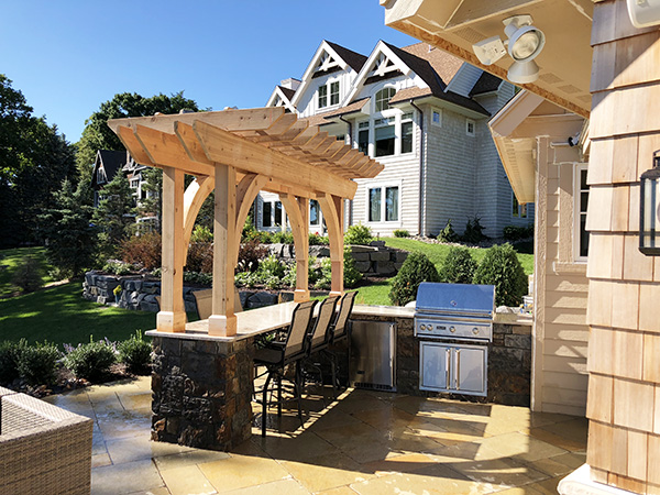 Yardscapes Wayzata Minnesota Outdoor Kitchen