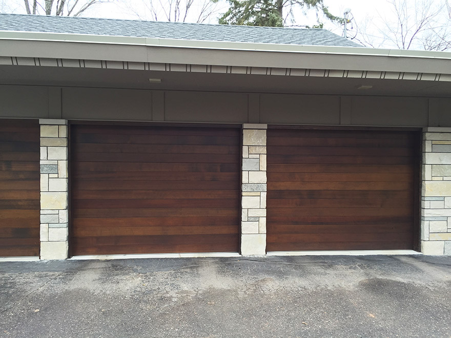 New-garage-doors-to-match-wood_tonka bay-mn