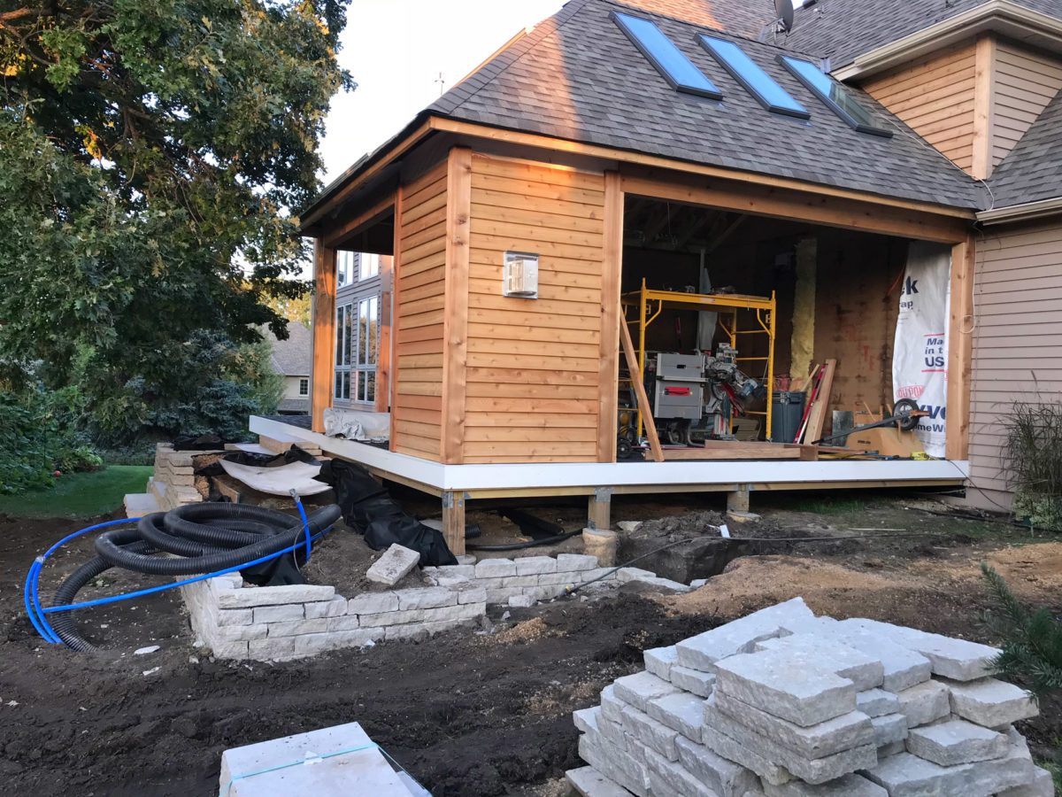Screen Porch and Deck Addition in Eden Prairie