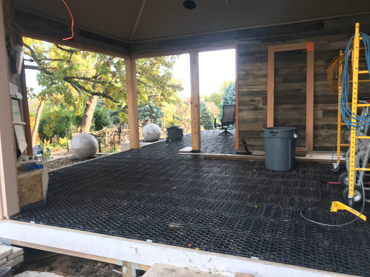 Silica System Pavers and Decking in Eden Prairie
