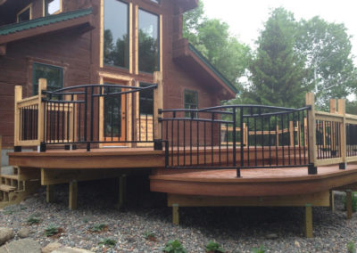 Custom Metal Railings for Deck