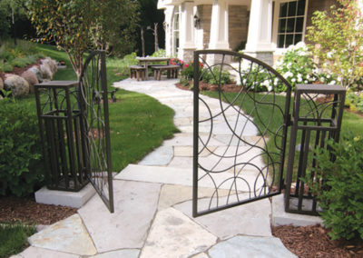 Custom Metal Entrance Gate