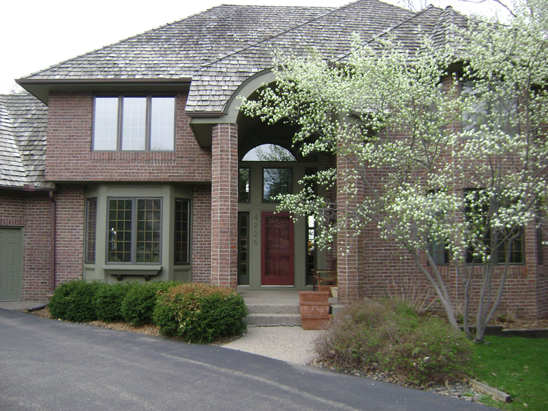 Front Entry Before Remodel