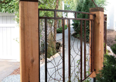 Custom Metal Fence Panels
