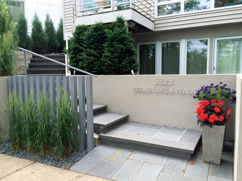 Minneapolis Condo Landscaping After