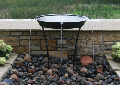 Custom Outdoor Water Feature